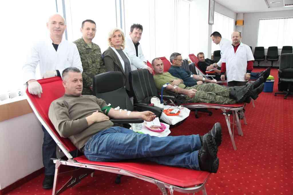 FSK-ja filloi aksionin humanitar për dhurimin e gjakut