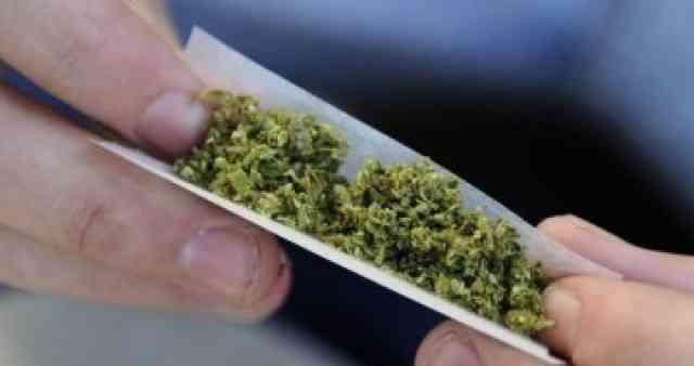 I gjendet në posedim marihuanë