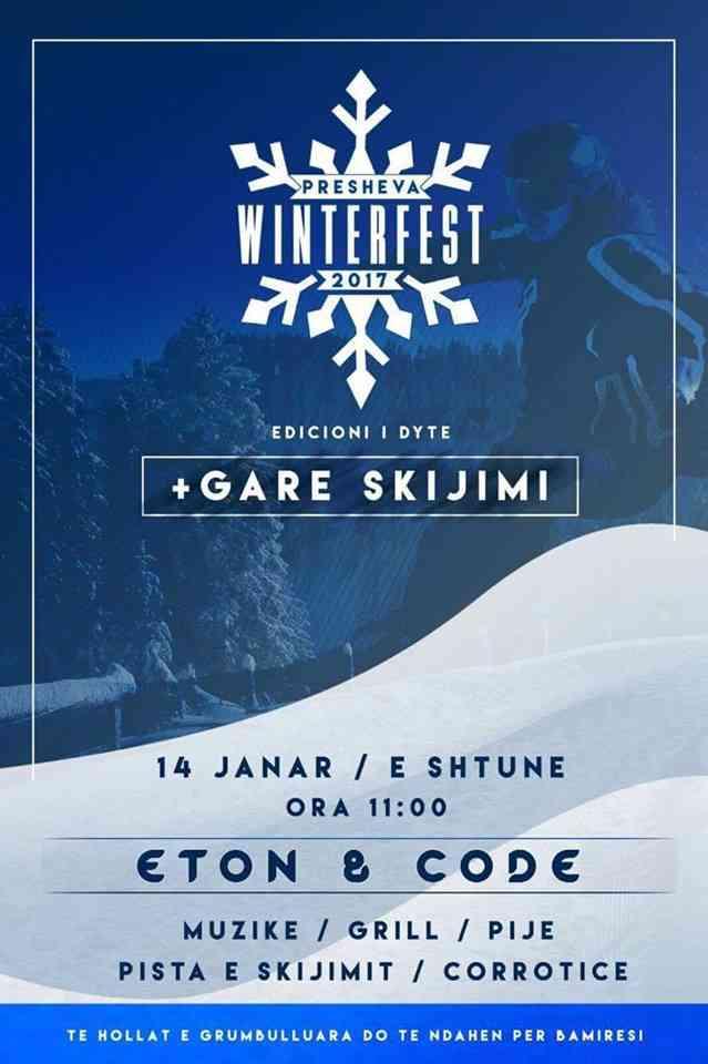 Presheva Winter Fest, adrenalinë dimërore në komunë të Preshevës