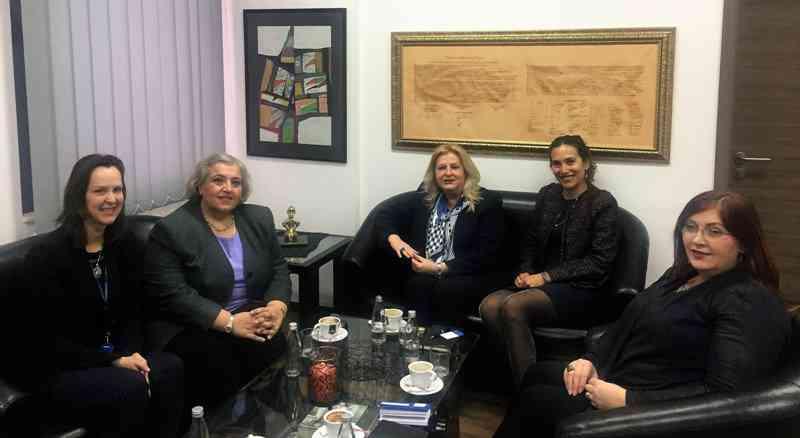 Ministrja Tahiri takon shefen e EULEX-it, Alexandra Papadopoulou