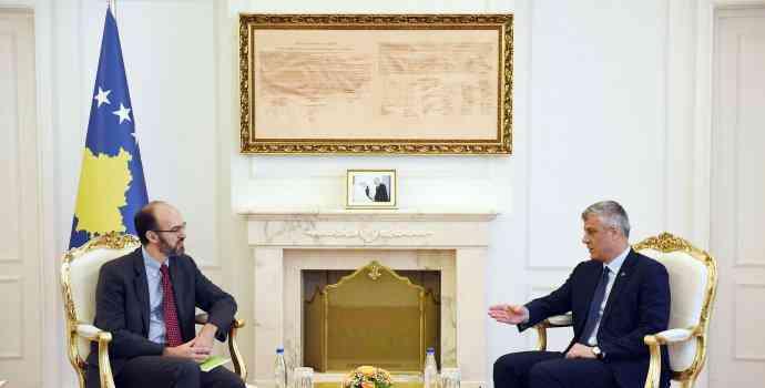 Presidenti Thaçi priti përfaqësuesit e MCC-së, i jep përkrahje punës së tyre
