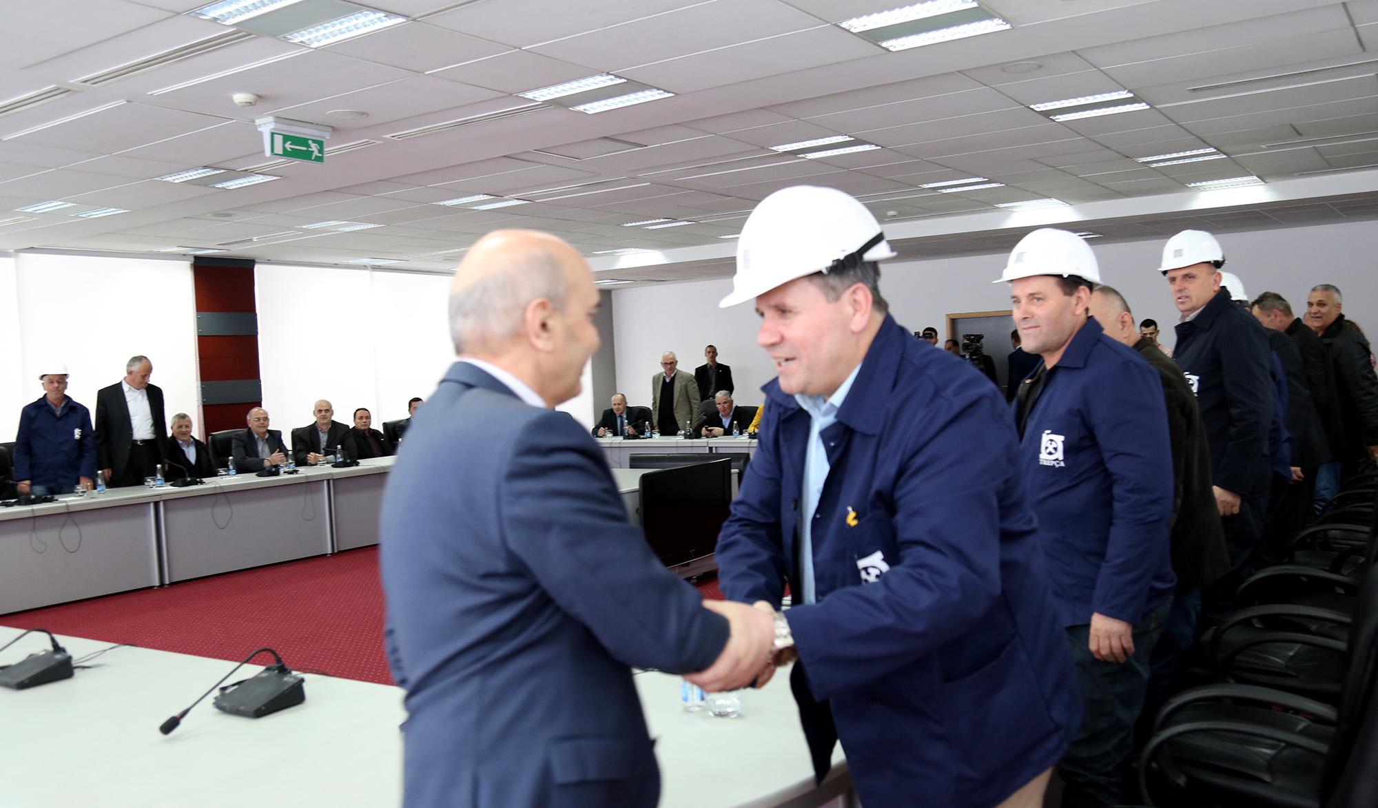 Mustafa: Qeveria e Kosovës e përkushtuar për rimëkëmbjen e Trepçës