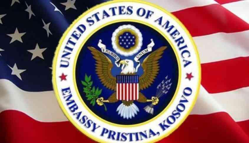 Ambasada amerikane mirëpret marrëveshjen për rrënimin e murit