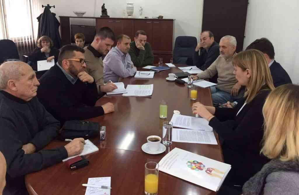 Përfaqësues nga Beogradi në përkrahje të medias lokale në Bujanoc dhe Preshevë