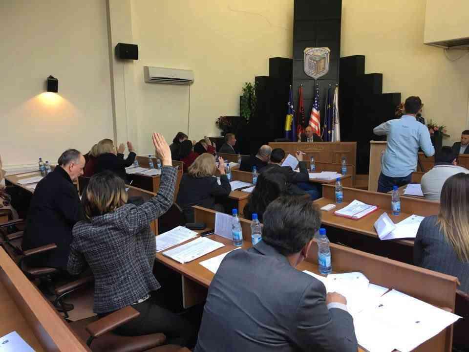 Kuvendi Komunal i Vitisë ka mbajtur sot mbledhjen e dyte te rregullt