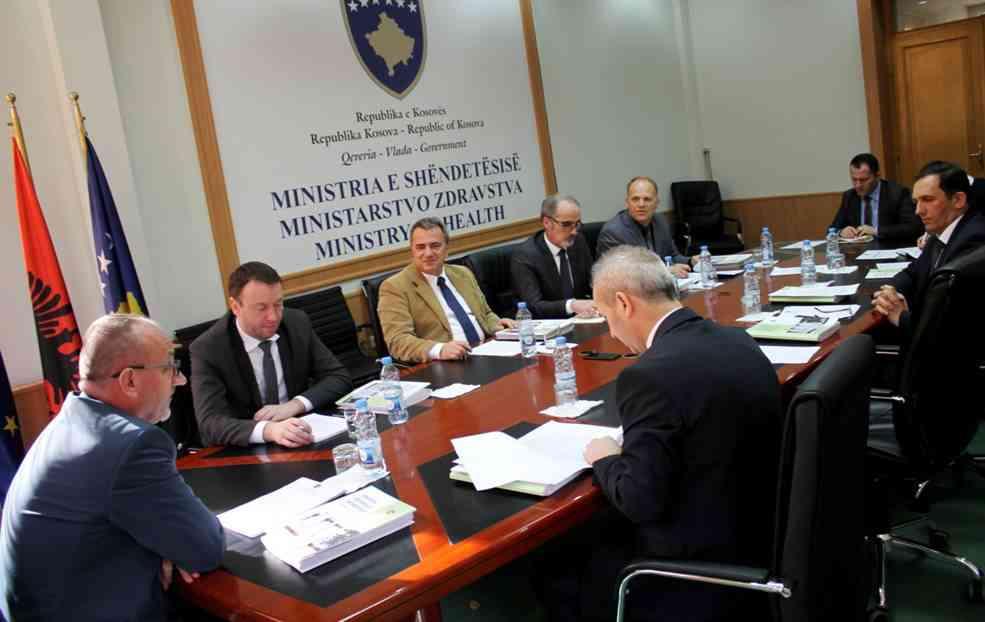 Mbahet takimi i Këshillit përgatitor për themelimin e Fondit të Sigurimeve shëndetësore