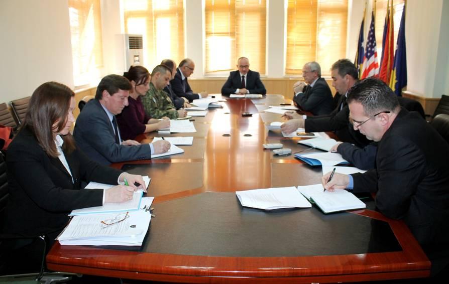 Këshilli Ndërministror EHKK diskuton zbatimin e Planit operativ 2017