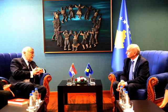 Mustafa: Kroacia partner i rëndësishëm i shtetit të Kosovës