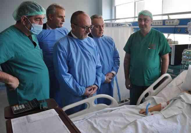 Operohet foshnja 5 muajshe në kardiokirurgji si rasti i parë në QKUK
