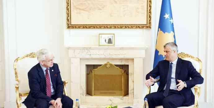 Thaçi: Britania e Madhe është një partner strategjik i Kosovës