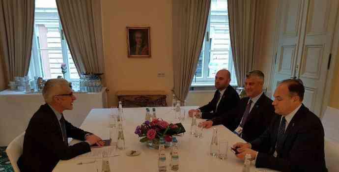 Presidenti Thaçi kërkon anëtarësim në INTERPOL