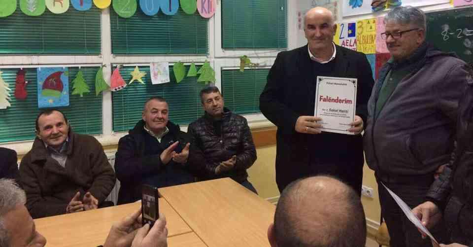 Ramnishta ia vlerëson punët e mira kreut të komunës