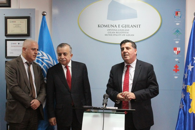 Haziri falënderon OKB-në për ndihmën e dhënë për Gjilanin përmes agjencioneve të ndryshme