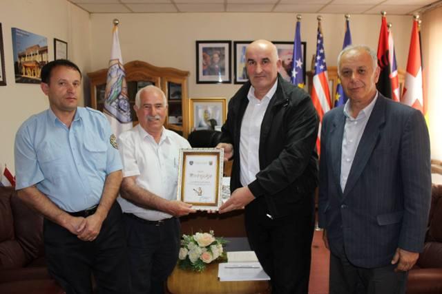 Mirënjohje për zjarrfikësin tani të pensionuar Bejtullah Limani