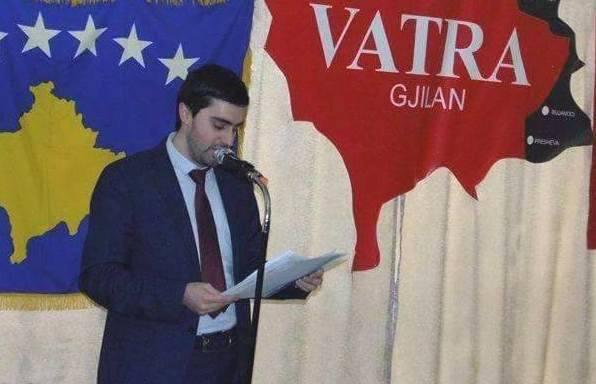 """""""Vatra"""" uron Ardita Sinanin"""