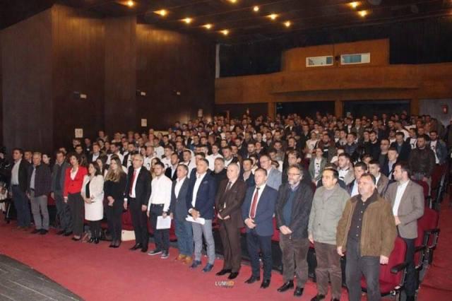 Arlind Vokshi u zgjodh në krye të të rinjve të Aleancës në Gjilan