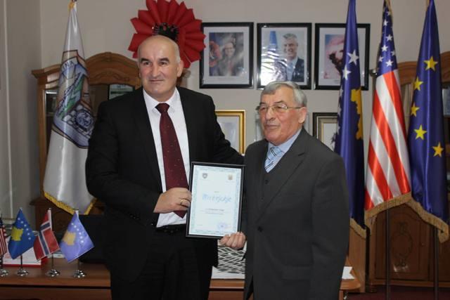 Haliti takon nënkryetarin e Lidhjes Shqiptare në Botë Sebastian Nuiqin