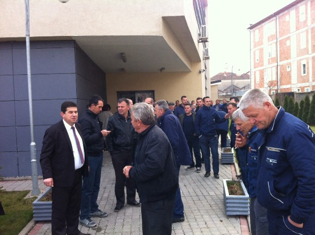 Lirimin e Haradinajt e kërkojnë edhe punëtorët e Hidromoravës