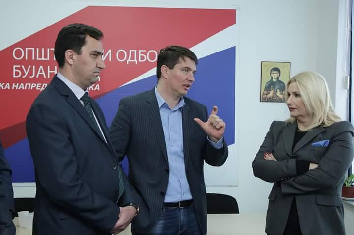Përfaqësuesit serb të Bujanocit mirëpresin Presidentin, Bujar Nishanin