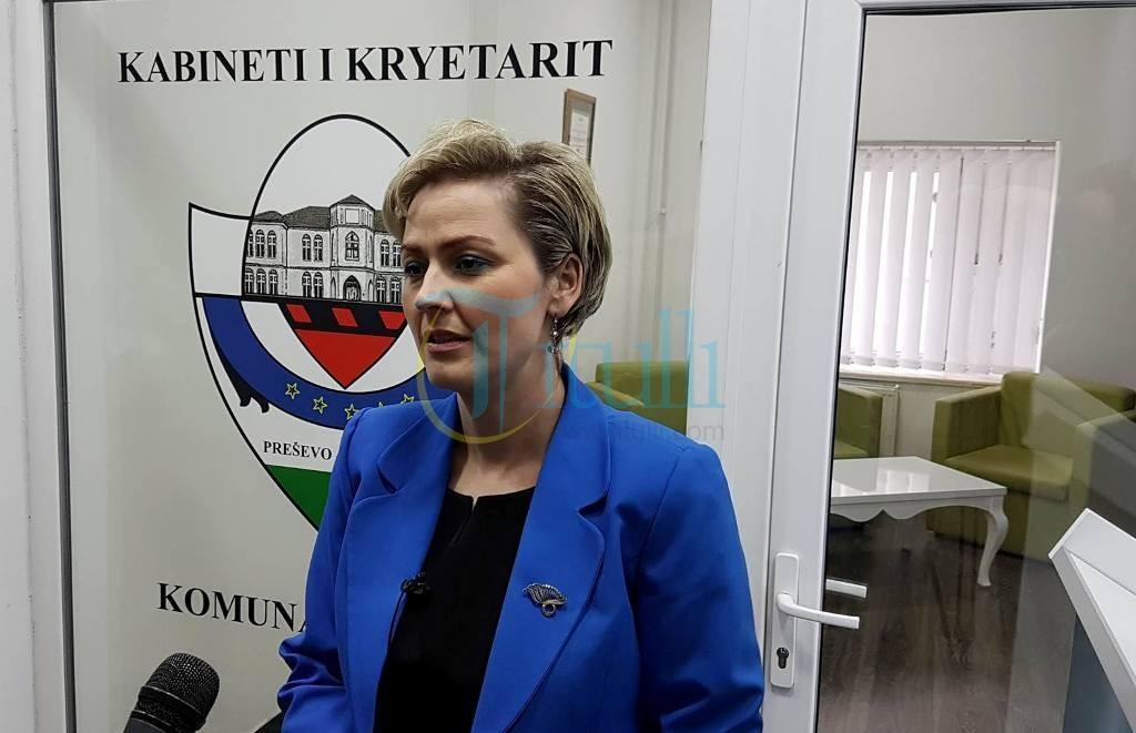 Ardita Sinani zgjidhet kryetare e komunës së Preshevës