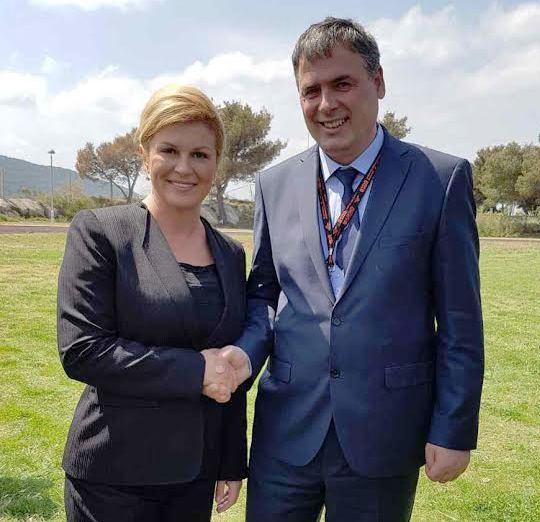 Ministri Demolli takon presidenten kroate, Kolinda Grabar-Kitaroviq