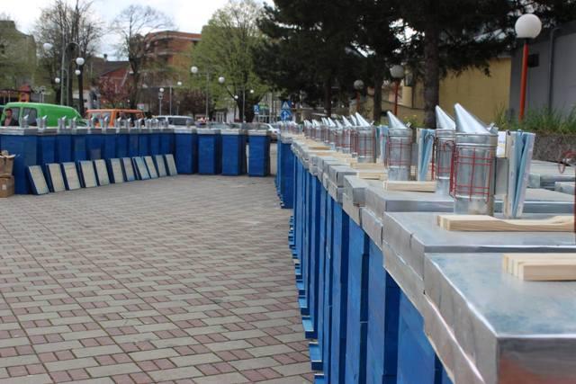 Në Viti sot u shpërndanë 200 koshere për bletë