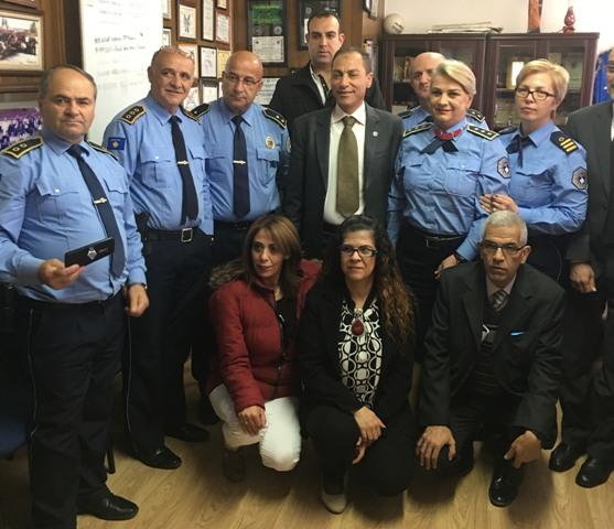 Një delegacion i Policisë nga Palestina viziton Policinë e Gjilanit
