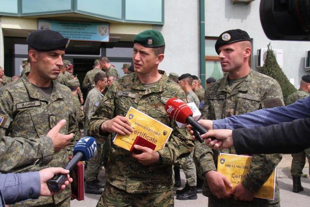 """Tetari i FSK-së Rafet Gashi – """"Ushtari më i mirë i vitit 2017''"""