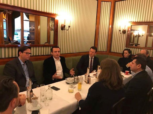 Vetëvendosje: Takim në Vjenë me deputetët e parlamentit austriak