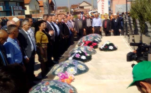 Komuna e Gjilanit përkujton martirët e Lladovës në 18-vjetorin e rënies