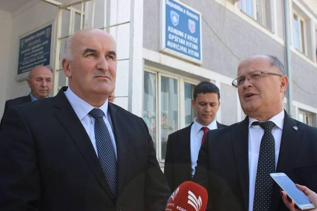 Zv. kryeministri i Kosovës Ramiz Kelmendi vizitoi sot Vitinë