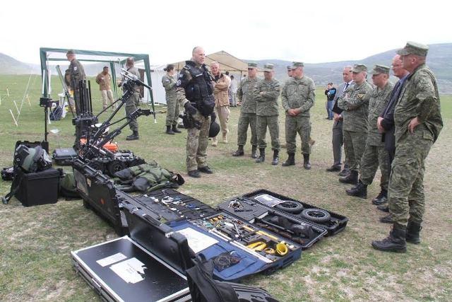 FSK-ja dhe KFOR-i demoluan mjete të pashpërthyera në shënimin e Ditës Ndërkombëtare të Deminimit