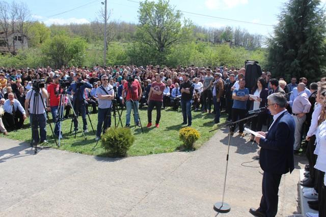 Kadriu: Zhegoci e Karadaku, gjithnjë ishin gati për lirinë e Kosovës