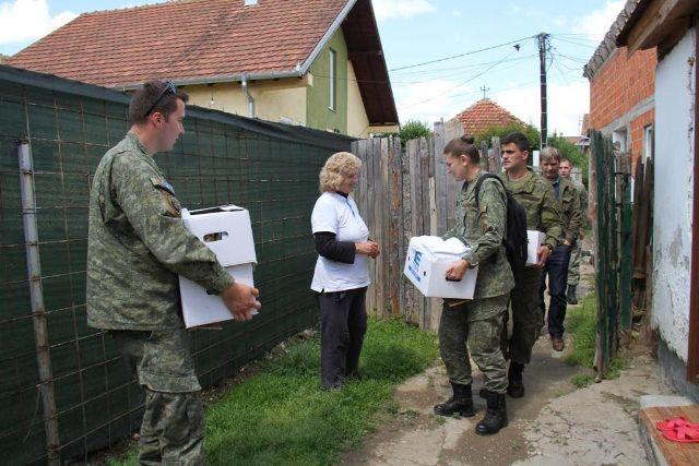 Forca e Sigurisë së Kosovës ndihmon familjet në asistencë sociale