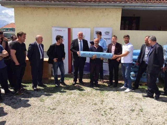 50 fermerë të komunës së Vitisë përfitues të folisë së najlonit
