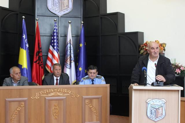 U mbajt mbledhja e rregullt e Këshillit Komunal për Siguri në Bashkësi