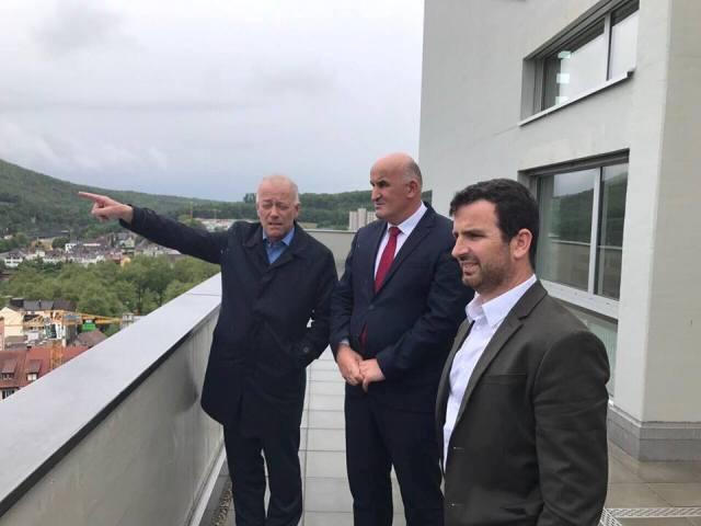 Haliti takohet me kryetarin e qytetit Olten të Zvicrës