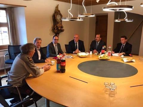 Kryetari Haliti po qëndron për vizitë zyrtare në Zvicër