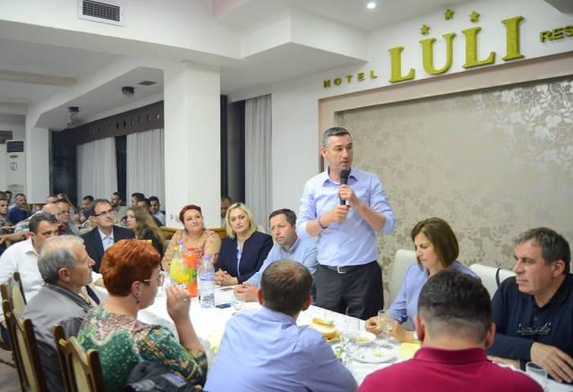 """Kadri Veseli: """"Gjilanin dhe Anamoravën, do ta zhbllokojmë duke e vënë në prioritet të qeverisë së """"Fillimit të ri"""""""