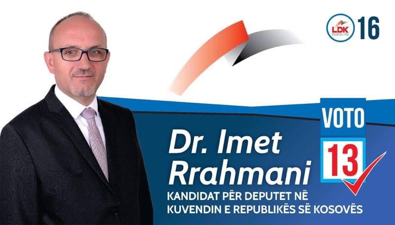 Dr. Imet Rrahmani: Ne nuk fillojmë, ne vazhdojmë me punë të hairit!