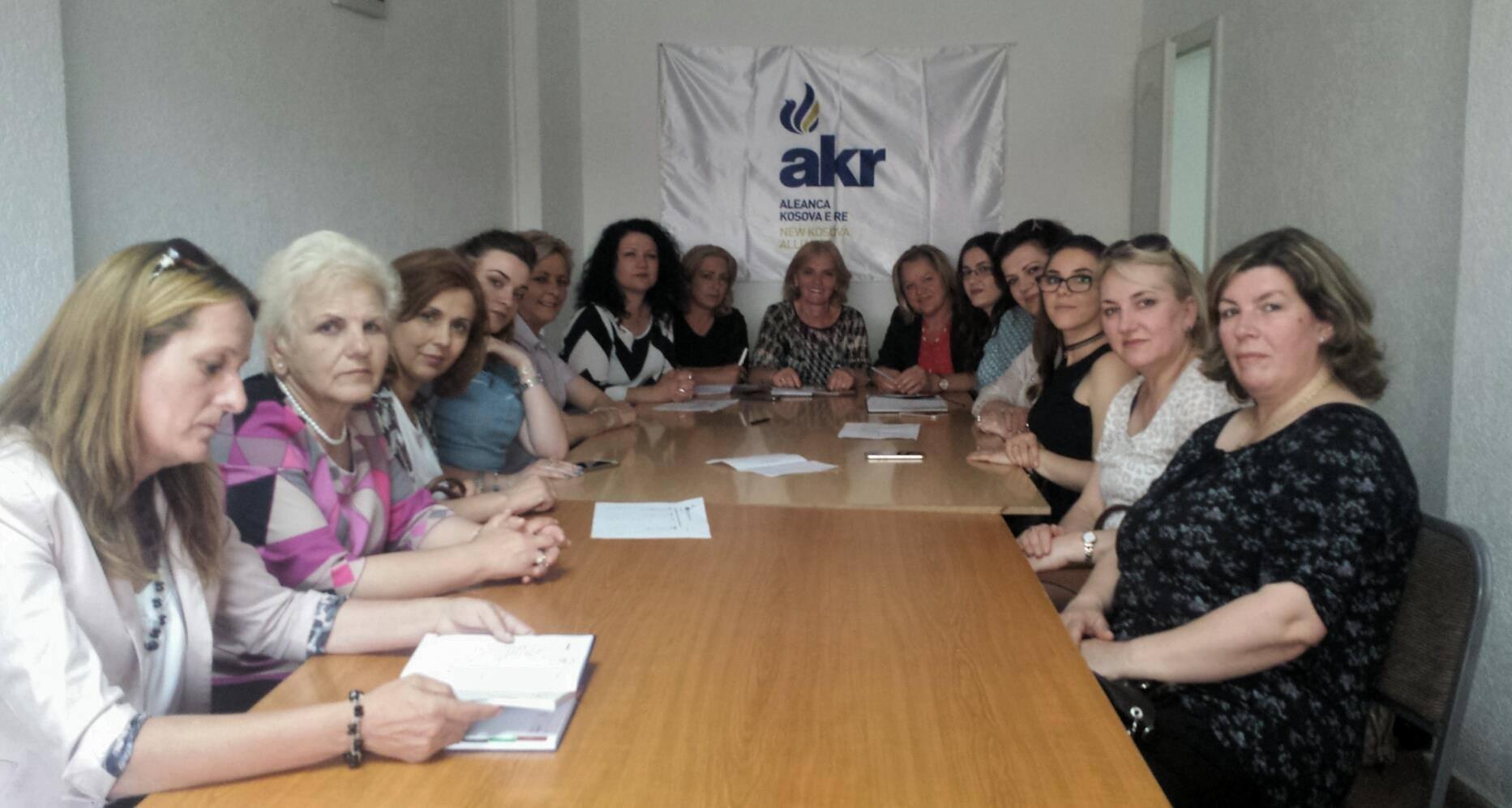 Vjollca Matoshi: Forumi i Gruas së AKR-së në Gjilan është gati për zgjedhjet 11 qershorit
