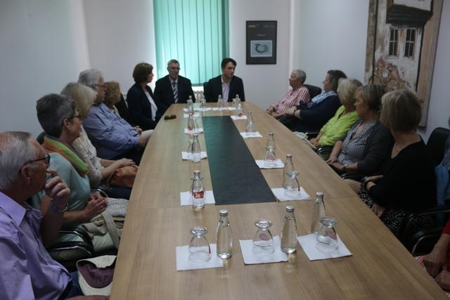 Intelektualë gjermanë vizituan Ministrinë e Diasporës