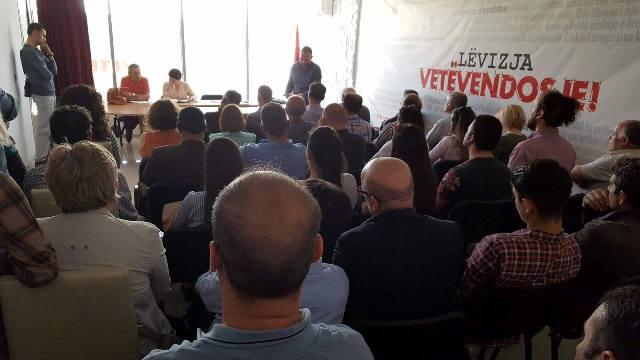 Mobilizohet edhe Vetëvendosja e Gjilanit, formon shtabin zgjedhor