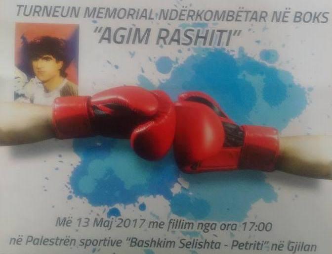 """Të shtunën mbahet turneu memorial ndërkombëtar në boks """"Agim Rashiti"""""""
