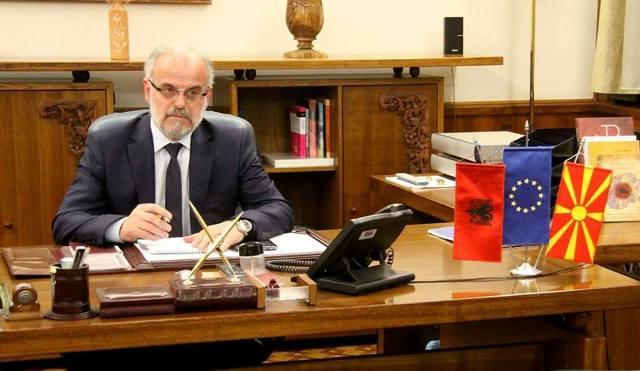 """""""Gazeta Zyrtare"""": Talat Xhaferi kryetar i ri i Kuvendit të Maqedonisë"""