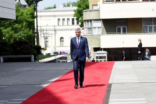 Presidenti Thaçi udhëton për në Stamboll, merr pjesë në hapjen e aeroportit të ri
