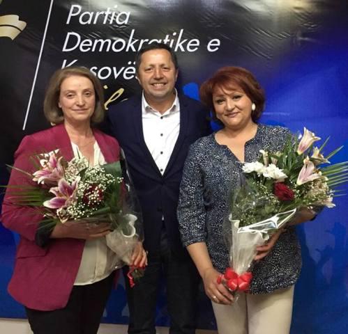 Jyksele Gjinolli kryetare e Gruas Demokratike të Kosovës (GDK) në Gjilan
