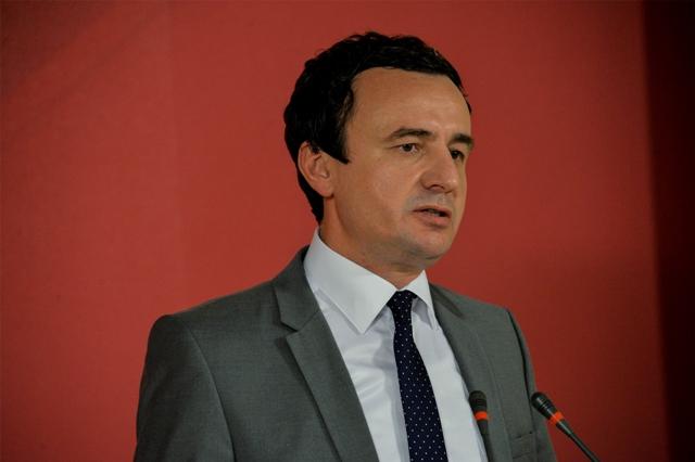Kurti i drejtohet Këshillit të Internacionales Socialiste që po mbahet në Gjenevë