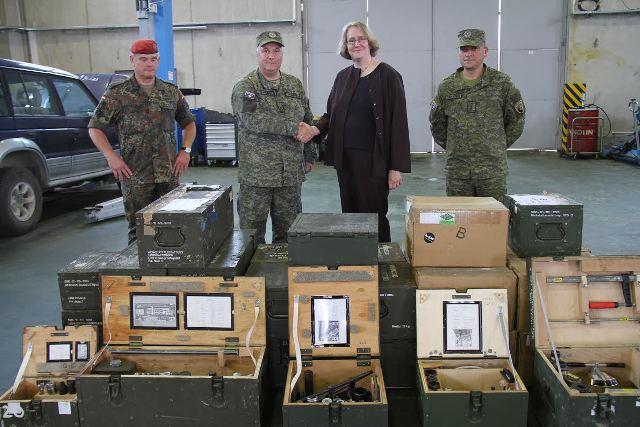 Shteti gjerman dhuron donacion për Forcën e Sigurisë së Kosovës