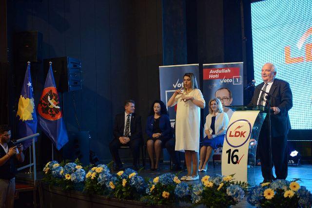 Daul: Mos i votoni ata që ju çojnë në qorrsokak, vetëm LDK e çon Kosovën në BE